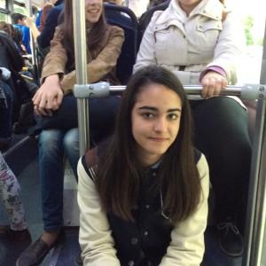 Jueves 3, visita de Niza en el bus 1.