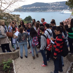 Martes 1, Villa Éphrussi, jardines 1.