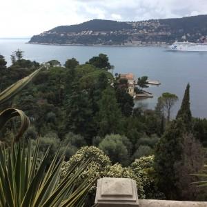Martes 1, Villa Éphrussi, vistas.