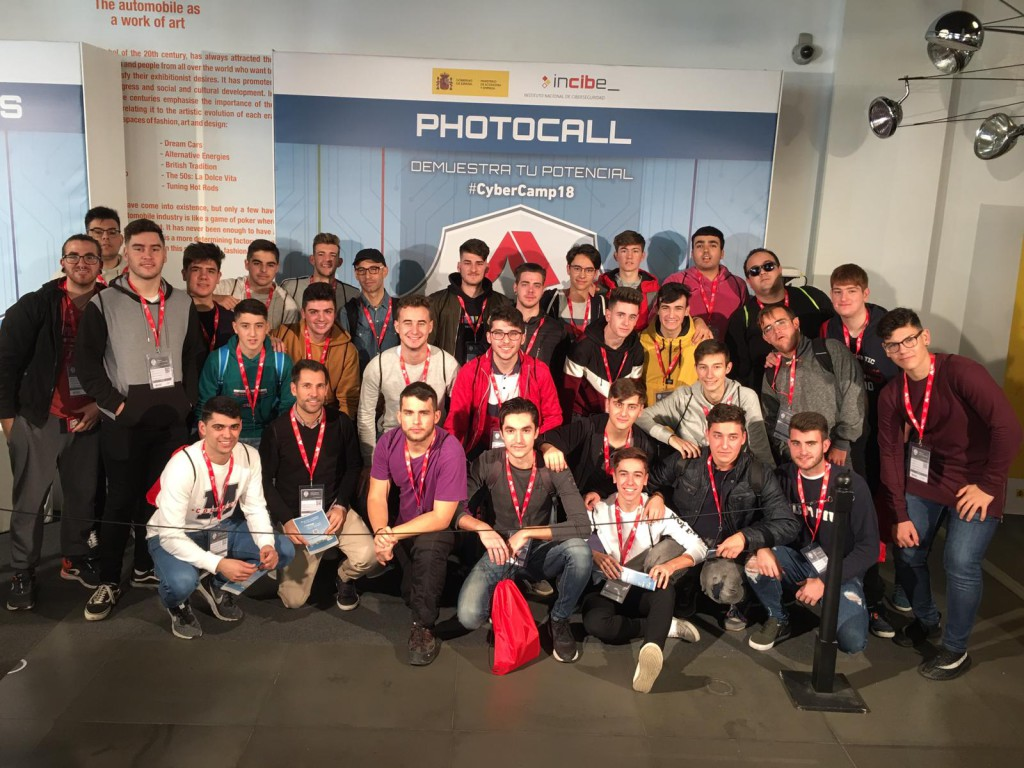photocall CyberCamp 2018