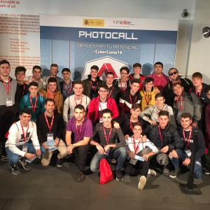 photocall CyberCamp 2018
