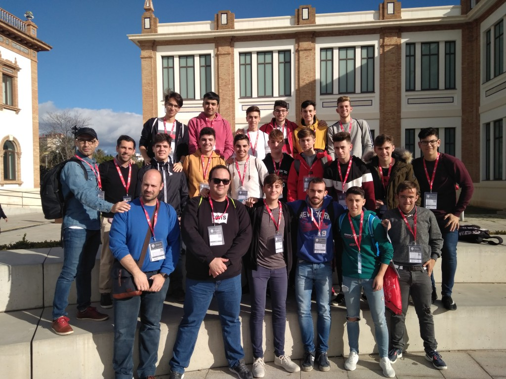 alumnado 1ºCFGM CyberCamp