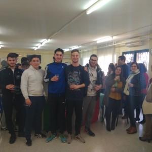 Comida italiana 2º CFGM y profesorado