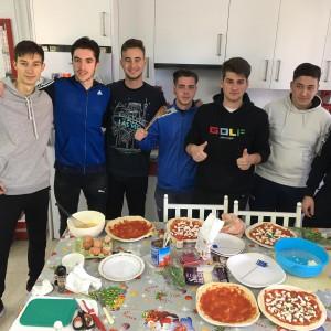 7 preparando la comida italiana