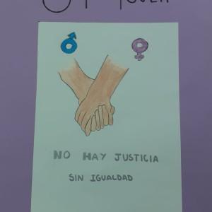 Empapela por la igualdad. Teresa Álvarez Medina